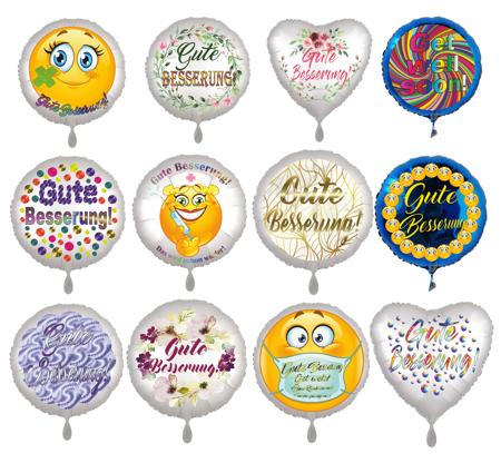 Luftballons Gute Besserung